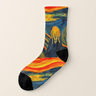 The Scream - Edvard Munch - Art Socks 1