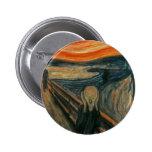 The Scream - Edvard Munch Badges