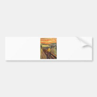 The Scream - Edvard Munch Bumper Sticker