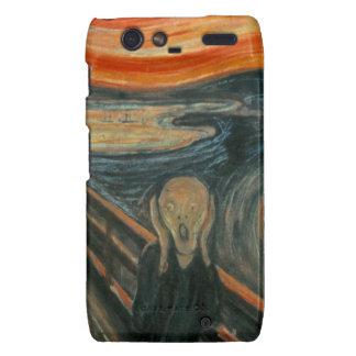 The Scream - Edvard Munch Motorola Droid RAZR Covers