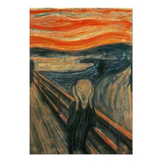 The Scream - Edvard Munch Personalised Announcement