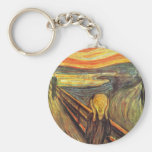 The Scream - Edvard Munch Keychain