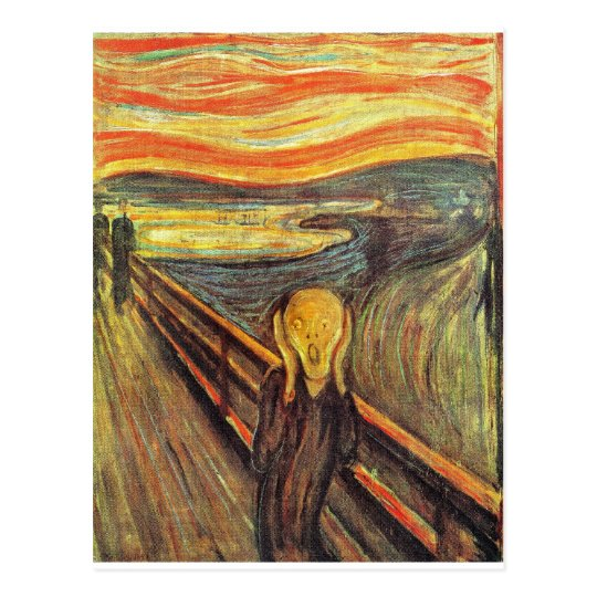 The Scream - Edvard Munch Postcard