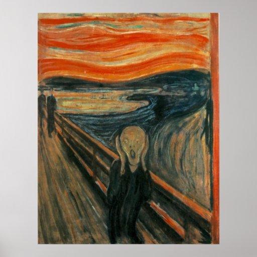 The Scream - Edvard Munch Print
