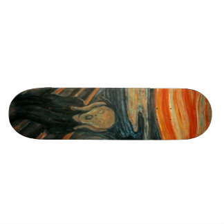 The Scream - Edvard Munch Skate Boards