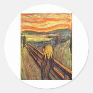 The Scream - Edvard Munch Stickers