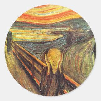 The Scream - Edvard Munch Sticker