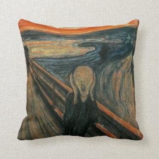 The Scream - Edvard Munch Throw Pillows