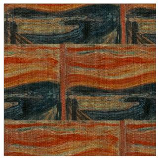 The Scream - Edvard Munch Fabric