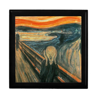 The Scream Edward Munch Screaming Large Square Gift Box