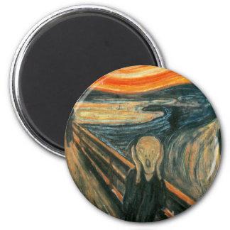 The Scream Edward Munch Screaming Magnets