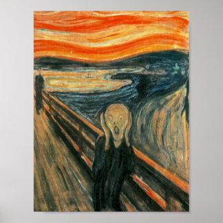 The Scream Edward Munch Screaming Poster