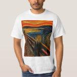 The Scream Fractal Painting Edvard Munch T-Shirt