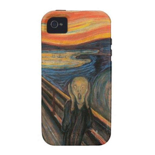The Scream iPhone 4 Case
