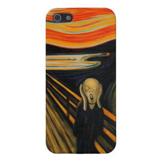 The Scream iPhone 5 Cover