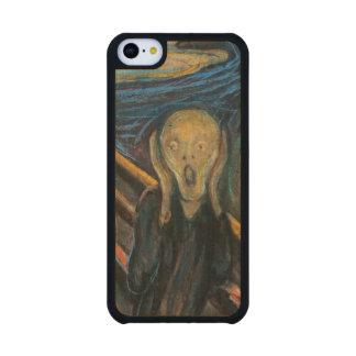 The Scream Maple iPhone 5C Slim Case