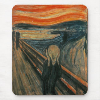 The Scream Mouse Mat
