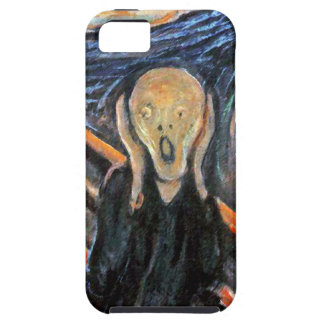 The Scream - Painting by Munch - SCREAMING CASE iPhone 5 Cover