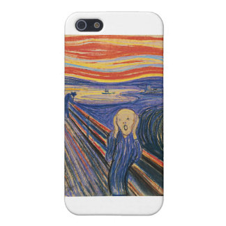 The Scream (pastel 1895) High Quality iPhone 5 Cover