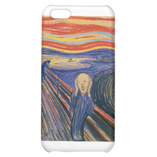 The Scream (pastel 1895) High Quality iPhone 5C Cover