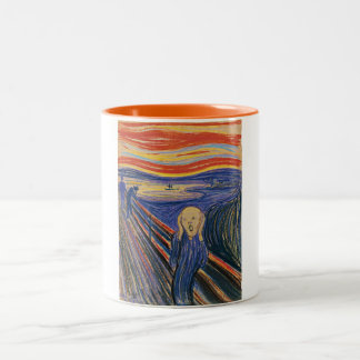 The Scream (pastel 1895) High Quality Mugs