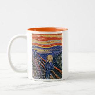 The Scream (pastel 1895) High Quality Mug