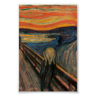 The Scream (Perfect Quality) Poster