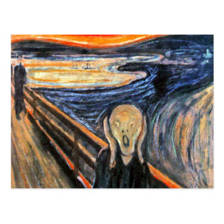 """The Scream"" Postcard"