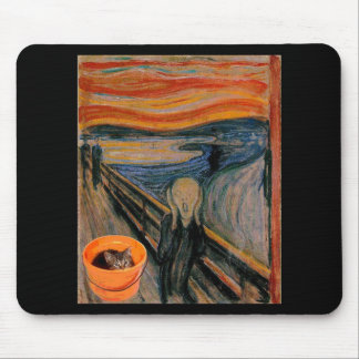 """The Scream"" re-visited Mouse Mat"