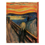 The Scream - Reproduction Art Poster
