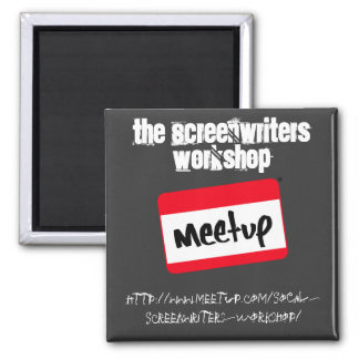 The Screenwriters Workshop Square Magnet