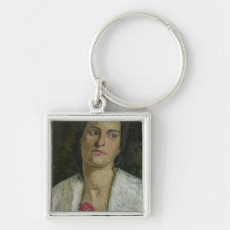 The Sculptress Clara Rilke-Westhoff  1905 Key Ring