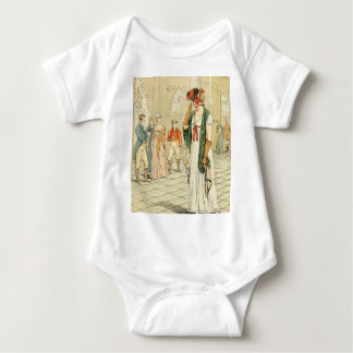 The Sculpture Gallery in the Louvre Baby Bodysuit