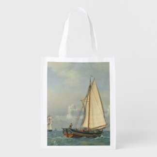 The Sea, 1831 Reusable Grocery Bags