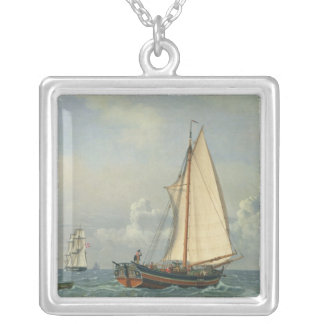 The Sea, 1831 Silver Plated Necklace