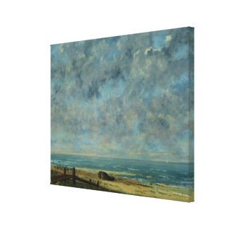 The Sea, c.1872 Canvas Print