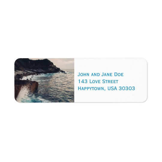 The Sea Edge Return Address Labels
