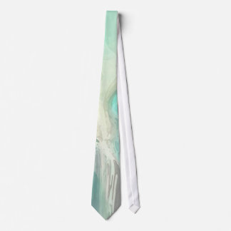 THE SEA OF AQUA MARINE TIE
