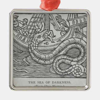 The Sea of Darkness Christmas Ornament