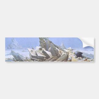 The Sea of Ice Bumper Sticker