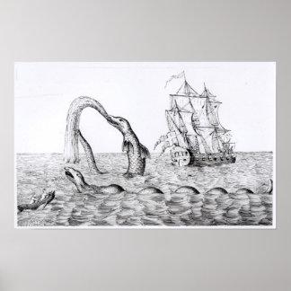 The Sea Serpent Print
