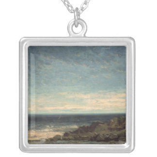 The Sea Silver Plated Necklace
