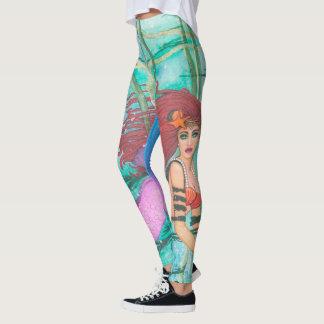 The Sea Sphere Mermaid Leggings