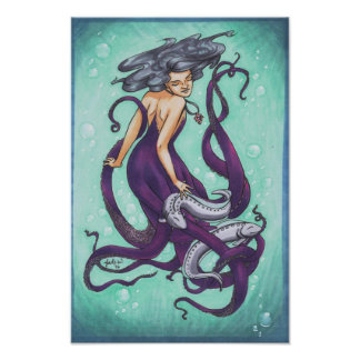 The Sea Witch Art Print Poster