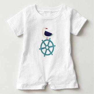 The Seagul Baby Bodysuit