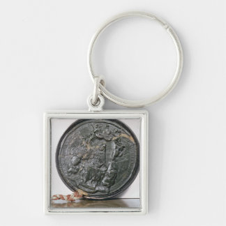 The seal of King Charles II Key Ring