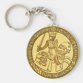 The Seal Of King Edward I Key Ring