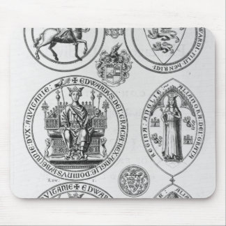 The Seals of Edward I Mouse Pad