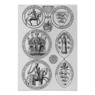 The Seals of Edward I Posters