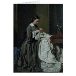 The Seamstress Greeting Card